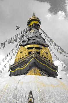 Estupa Swayambhunath Nepal