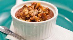 Chocolate and Walnut Custard Pots from Everyday Gourmet