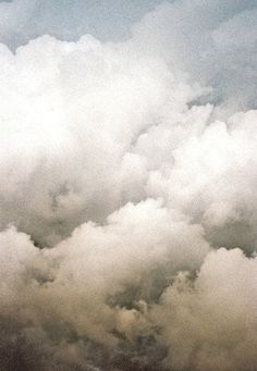 CLOUDS - billow, brume, darkness, dimness, film, fog, fogginess, frost, gloom, haze, haziness, mare's tail, mist, murk, nebula, nebulosity, obscurity, ol' buttermilk sky, overcast, pea soup, pother, puff, rack, scud, sheep, smog, smoke, smother, steam, thunderhead, vapor, veil, woolpack