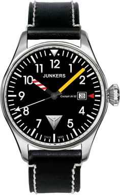 Junkers Watch Cockpit JU52 #2015-2016-sale #bezel-fixed #black-friday-special #bracelet-strap-leather #brand-junkers #case-material-steel #case-width-40mm #classic #date-yes #delivery-timescale-1-2-weeks #dial-colour-black #gender-mens #movement-quartz-battery #official-stockist-for-junkers-watches #packaging-junkers-watch-packaging #sale-item-yes #style-dress #subcat-cockpit-ju52 #supplier-model-no-6144-3 #vip-exclusive #warranty-junkers-official-2-year-guarantee #water-resistant-50m