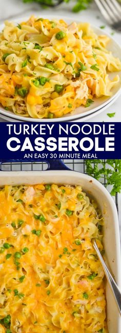 Business Cookware Ought To Be Sturdy And Sensible This Turkey Noodle Casserole Is Ready In Under 30 Minutes And It Is Packed Full Of Flavor Such A Great Way To Use Thanksgiving Leftovers, But Makes A Great Comfort Food Dinner Any Time Of Year Turkey Recipes, Chicken Recipes, Potato Recipes, Broccoli Recipes, Sausage Recipes, Bread Recipes, Soup Recipes, Carrot Recipes, Pasta Recipes