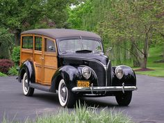 Ford : Other Woody 1938 Ford DeLuxe Station Wagon~ - http://www.legendaryfinds.com/ford-other-woody-1938-ford-deluxe-station-wagon/