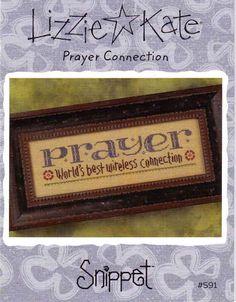 Cross Stitch pattern by Lizzie Kate Prayer by thestitchersloft, $4.00