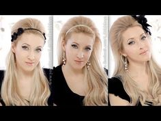 3-in-1 big hair tutorial: Lana del Rey for H, Adele hairstyle, Britney in Scream and Shout - YouTube