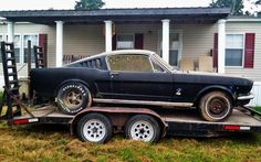 Better Late than Never: 1966 Mustang Fastback - http://barnfinds.com/better-late-than-never-1966-mustang-fastback/