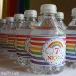 Fiesta infantil de arcoiris - Curso de Organizacion del hogar y Decoracion de Interiores