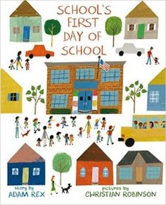 """""""From the Guide: First-Day-of-School Picture Books,"""" September/October 2016 Horn Book Magazine"""
