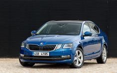 Skoda Octavia SE Technology - March 2019 to date Vista Frontal, New Blue, Car Posters, Poster Poster, Desktop Pictures, Car Wallpapers, Automotive Industry, Volkswagen, Cars