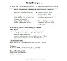 images about latest resume on pinterest   resume examples    good teacher resume sample   sample resumes