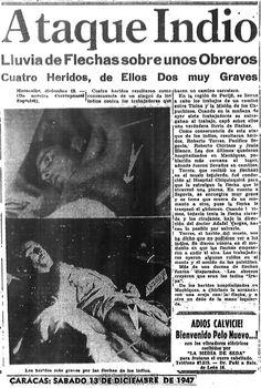 Ataque indio. Publicado el 13 de diciembre de 1947.