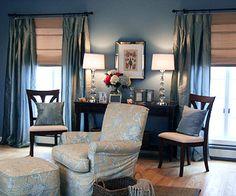 1000 images about blue rooms medium blues on pinterest bleached denim indigo and denim paint - Jamestown blue paint color ...