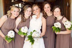 I love the natural look of this bridesmaid shot