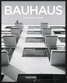 Celebrate the innovative imagination of the Bauhaus movement and the total work of art with this Basic Art series monograph from TASCHEN Books. Art Bauhaus, Design Bauhaus, Walter Gropius, Art Deco, Cover Design, 100 Best Books, Interior Design Books, International Style, Art Series