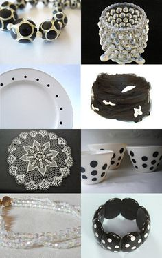 Black, white and a sprinkle of glee  --Pinned with TreasuryPin.com