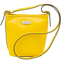 Host Exclusive! Leave your friends green with envy! Grace Adele Host Exclusive Cross-body in Yellow! #GraceAdele www.elegantthemes.graceadele.us