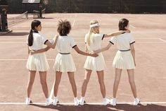 FILA + Urban Outfitters Team Up for a Tennis-Inspired Collection Tennis Outfits, Tennis Clothes, Tennis Wear, Nike Clothes, Tennis Skirts, Play Tennis, Gallagher Girls, Tennis Fashion, Teen Vogue