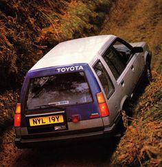 Toyota Tercel 4WD Estate UK-spec '1984–87