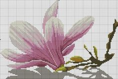 "Embroidery ""Magnolia"""