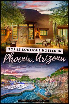 Usa Travel Guide, Travel Usa, Travel Guides, Travel Tips, Arizona City, Phoenix Arizona, Best Boutique Hotels, Best Hotels, Downtown Phoenix