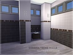 The Sims Resource: Cerdisa Trend Walls by Mayhem-Design • Sims 4 Downloads
