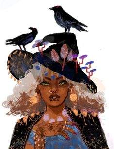 out of 2 new finished illustrations I made this month for my witch series! 1 out of 2 new finished illustrations I made this month for my witch series! out of 2 new finished illustrations I made this month for my witch series! Art And Illustration, Illustrations, Kunst Inspo, Art Inspo, Fantasy Kunst, Fantasy Art, Art Et Design, Arte Sketchbook, Witch Art
