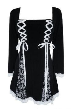 Dare To Wear Victorian Gothic Women's Plus Size Gemini Princess Corset Top: Amazon.com: Clothing
