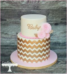 Simple and elegant for a baby showe