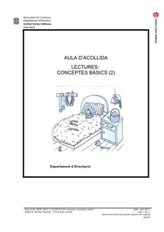 Generalitat de CatalunyaDepartament d'EducacióInstitut Carles VallbonaGranollers                                  AULA D'A...