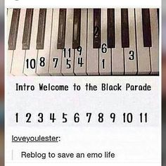 THIS CHANGED MY LIFE. Because of these few notes I started to play the piano again