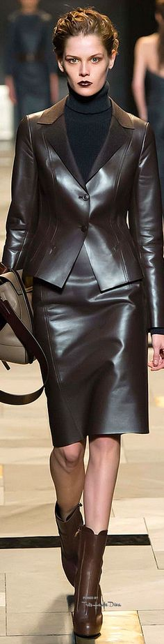 Trussardi Fall 2015, fashion, runway fashion, designer