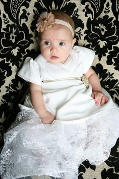 Oh how I love this... for baby girl's baptism if it weren't ridiculously expensive!