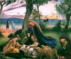 "Death of Arthur - James Archer - ""Is Bardsey Island the mystical Island of…"