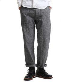 Men, fatigue pants, by TS(S)