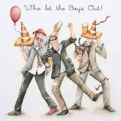 Who let the Boys Out by Berni Parker