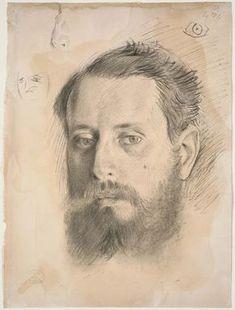 Edgar Degas (French, 1834–1917) | Portrait of Edmondo Morbilli | Museum of Fine Arts, Boston