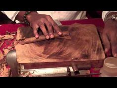 For reference on creating fondant cigars Cuban Cigars custom hand rolled - YouTube