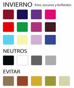 Paleta de color mujeres de primavera suave generalmente - Paleta de colores neutros ...