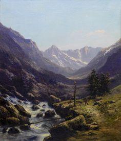 Near Madrid Carlos de Haes | Stuff to Buy | Arte pintura ...