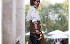 Streetlooks à la Fashion Week de Paris