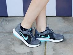 street style - fashion - tênis esportivo - sneakers - Nike - blue and gray - blogger - ootd - look do dia