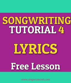 How to write songs? 10 pts?