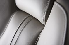 Princess Design Studio | It's all in the detail. Beautiful stitch detailing on the leather helm seats of the Princess V58 #craftedinplymouth #detailing #interior #design