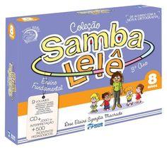 coleção samba lele samba le le 8 anos + brinde