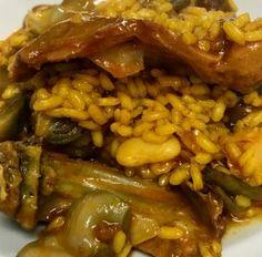 Arroz meloso de pollo, conejo y verduras | Catering La Despensa