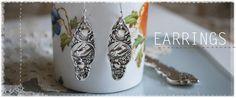 sinver spoon jewelry demitasse spoon earrings