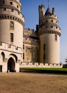 Château de Pierrefonds, Oise, Picardy, France