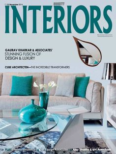 Society Interiors is an Interior Design and Architecture magazine. Featured in the publication are projects from all over India as well as across the globe.Society Interiors - India's leading design magazine from the house of Magna - has become a name to reckon with in the world of architecture and interior design.