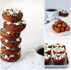 rocky road donuts