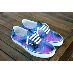 Custom Galaxy Vans Era shoes ($169) ❤ liked on Polyvore featuring shoes, sneakers, vans, tenis, grey, women's shoes, star shoes, galaxy shoes, star sneakers and planet shoes