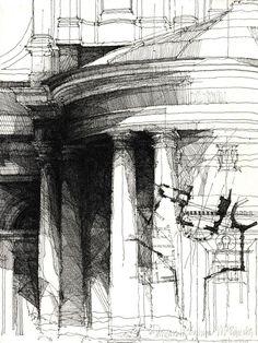 того, фото и рисунки архитектурного содержания разделке
